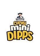 QUAKER CHEWY MINI DIPPS