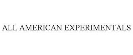 ALL AMERICAN EXPERIMENTALS