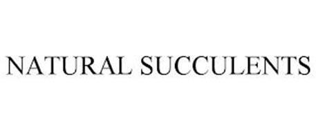NATURAL SUCCULENTS