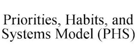 PRIORITIES, HABITS, AND SYSTEMS MODEL (PHS)