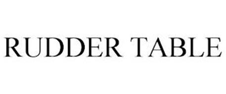 RUDDER TABLE