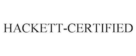 HACKETT-CERTIFIED