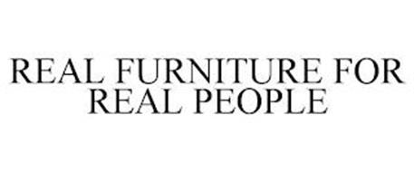 REAL FURNITURE FOR REAL PEOPLE