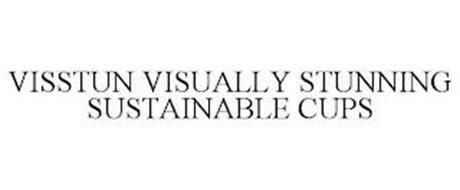 VISSTUN VISUALLY STUNNING SUSTAINABLE CUPS