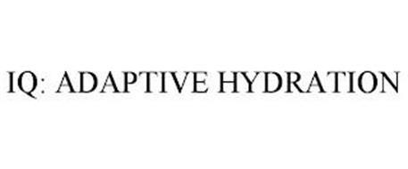 IQ: ADAPTIVE HYDRATION