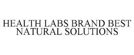 HEALTH LABS BRAND BEST NATURAL SOLUTIONS