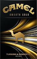 CAMEL SMOOTH GOLD TURKISH & DOMESTIC BLEND