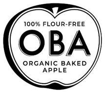 OBA ORGANIC BAKED APPLE 100% FLOUR FREE
