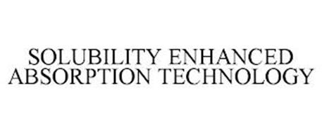 SOLUBILITY ENHANCED ABSORPTION TECHNOLOGY