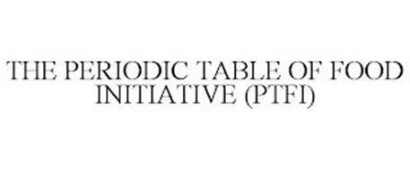 THE PERIODIC TABLE OF FOOD INITIATIVE (PTFI)