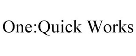 ONE:QUICK WORKS