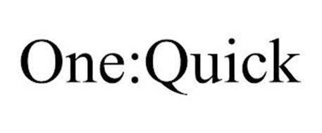 ONE:QUICK