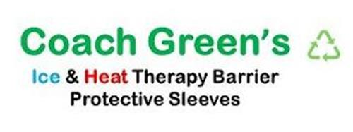 COACH GREEN'S ICE & HEAT THERAPY BARRIER PROTECTIVE SLEEVES