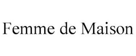 FEMME DE MAISON