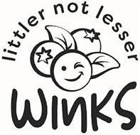 WINKS LITTLER NOT LESSER