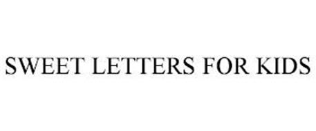 SWEET LETTERS FOR KIDS