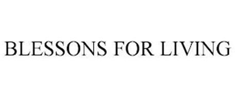 BLESSONS FOR LIVING