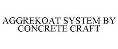 AGGREKOAT SYSTEM BY CONCRETE CRAFT