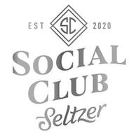 SC EST 2020 SOCIAL CLUB SELTZER
