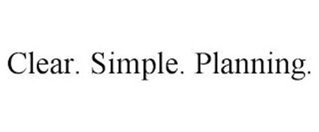 CLEAR. SIMPLE. PLANNING.