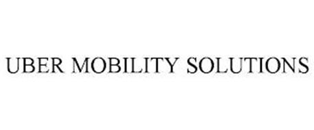 UBER MOBILITY SOLUTIONS