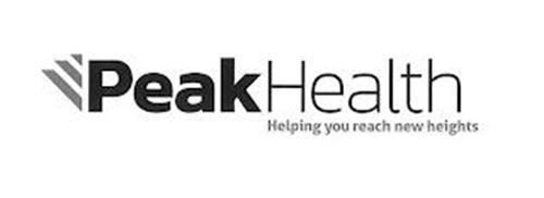 PEAK HEALTH HELPING YOU REACH NEW HEIGHTS