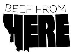 BEEF FROM HERE
