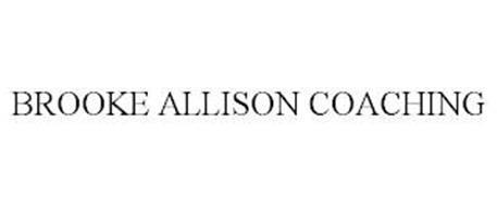 BROOKE ALLISON COACHING