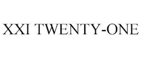 XXI TWENTY-ONE