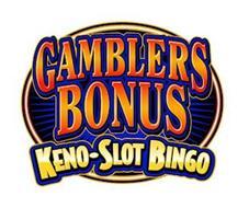 GAMBLERS BONUS KENO-SLOT BINGO