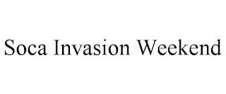SOCA INVASION WEEKEND