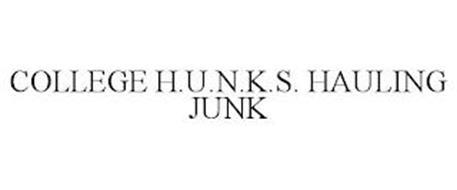 COLLEGE H.U.N.K.S. HAULING JUNK