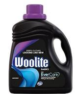 KEEPS CLOTHES LOOKING LIKE NEW WOOLITE DARKS WITH EVERCARE PROTECTS FROM FADING PILLING & STRETCHING HE LAUNDRY DETERGENT