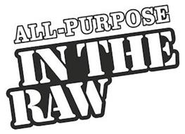 ALL-PURPOSE IN THE RAW