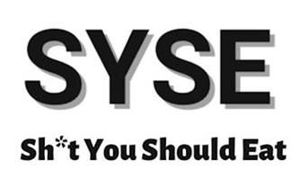 SYSE SH*T YOU SHOULD EAT