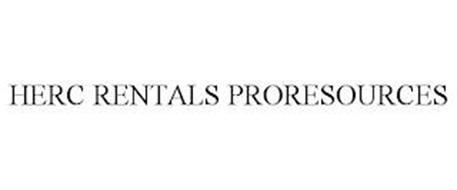 HERC RENTALS PRORESOURCES