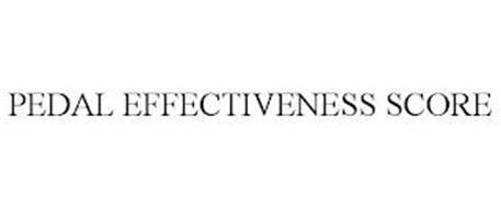 PEDAL EFFECTIVENESS SCORE