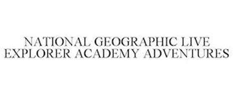 NATIONAL GEOGRAPHIC LIVE EXPLORER ACADEMY ADVENTURES