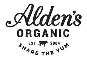 ALDEN'S ORGANIC SHARE THE YUM EST 2004