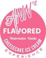 ANN'S FLAVORED CHEESECAKE ICE CREAM EXPERIENCE