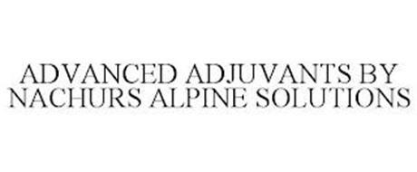 ADVANCED ADJUVANTS BY NACHURS ALPINE SOLUTIONS