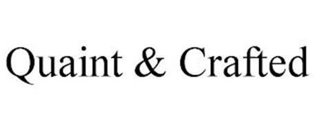 QUAINT & CRAFTED