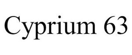 CYPRIUM 63