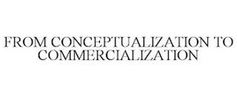 FROM CONCEPTUALIZATION TO COMMERCIALIZATION