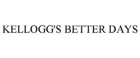 KELLOGG'S BETTER DAYS