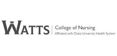 WATTS COLLEGE OF NURSING AFFILIATED WITH DUKE UNIVERSITY HEALTH SYSTEM