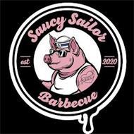 SAUCY SAILOR BARBECUE EST 2020 BBQ SS