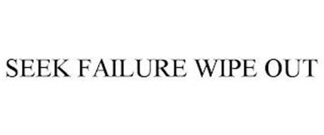 SEEK FAILURE WIPE OUT