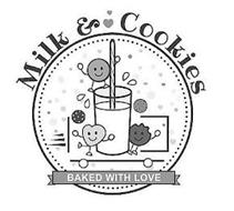 MILK & COOKIES BAKED WITH LOVE