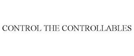 CONTROL THE CONTROLLABLES